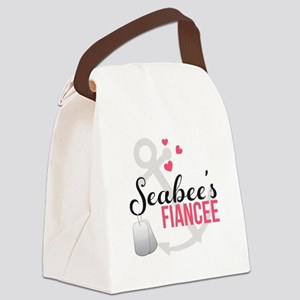 Seabee's Fiancee Canvas Lunch Bag
