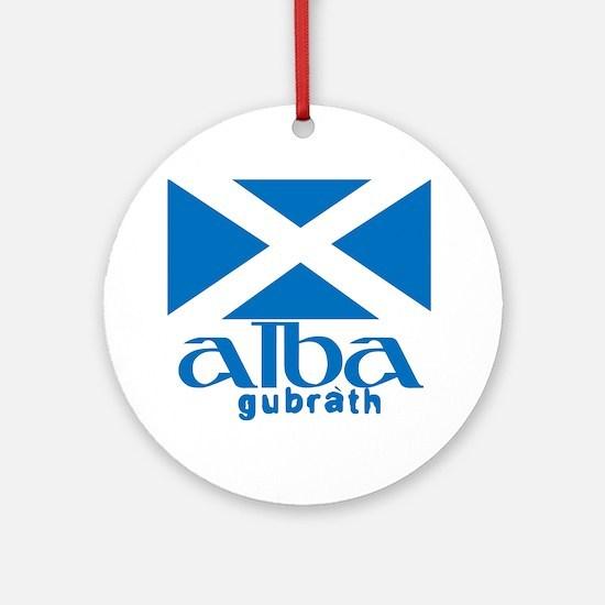 Long Live Alba! Round Ornament