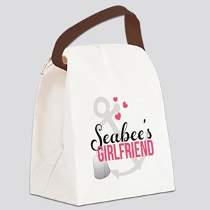 Seabee's Girlfriend Canvas Lunch Bag