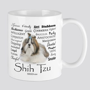 Shih Tzu Traits Mugs