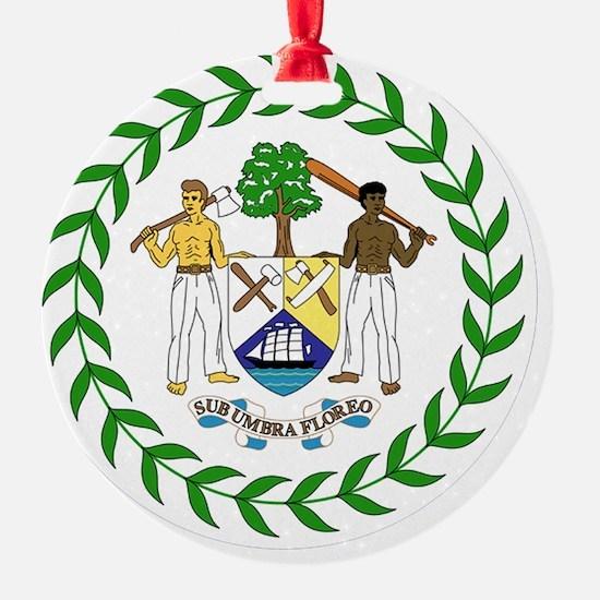 Belize Ornament