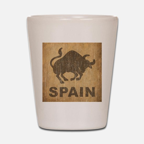 Spain Shot Glass