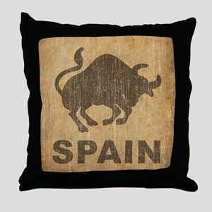 Spain Throw Pillow