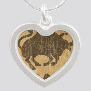 Spain Silver Heart Necklace