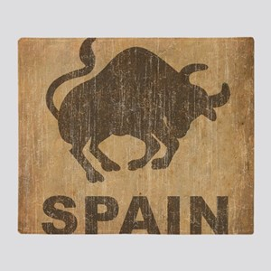 Spain Throw Blanket