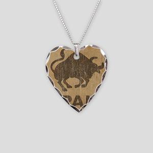 Spain Necklace Heart Charm