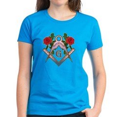 Roses for the Lady Women's Dark T-Shirt