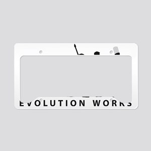 Evolution Koch 2c B License Plate Holder
