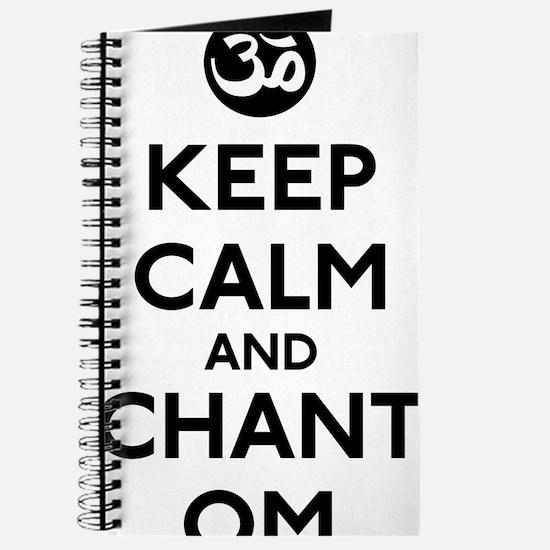 Keep Calm Chant Om Journal