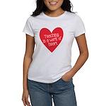Red Teacher Heart Women's T-Shirt