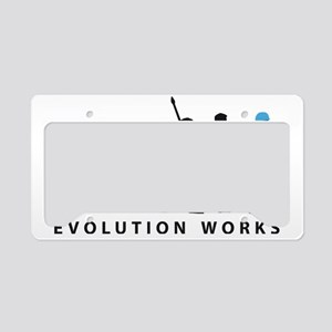 Evolution Klempner B 2c License Plate Holder