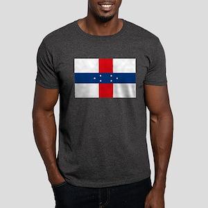 Netherland Antilles Flag Dark T-Shirt