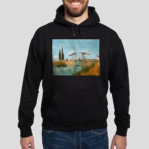 The Drawbridge - Van Gogh - c1888 Sweatshirt