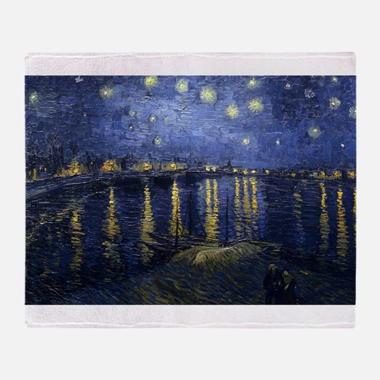 Starry Night Over the Rhone - Van Gogh - c1888 Thr