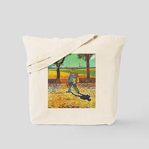 Painter on His Way to Work - Van Gogh - c1888 Tote