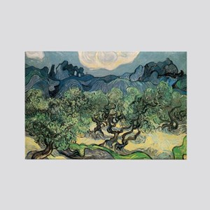Olive Trees - Van Gogh - c1889 Magnets
