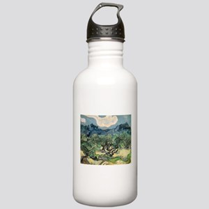 Olive Trees - Van Gogh - c1889 Water Bottle