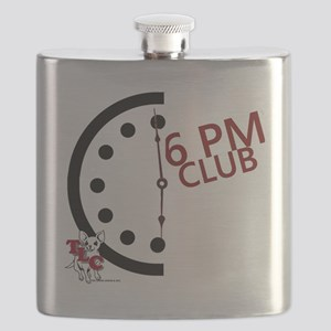 6 PM Club front Flask
