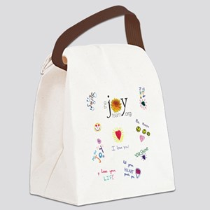 Jr Joy Canvas Lunch Bag