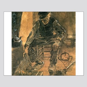Old Man at the Fireside - Van Gogh - c1881 Small P
