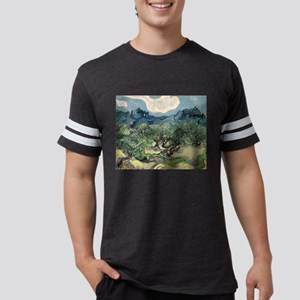 Olive Trees - Van Gogh - c1889 Mens Football Shirt