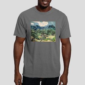 Olive Trees - Van Gogh - c1889 Mens Comfort Colors