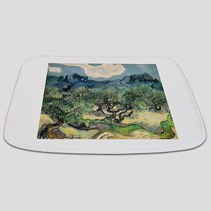 Olive Trees - Van Gogh - c1889 Bathmat