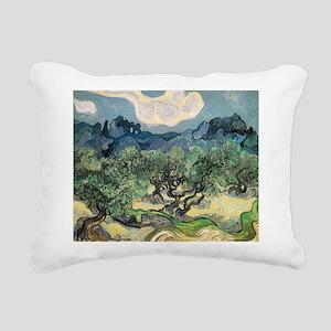 Olive Trees - Van Gogh - c1889 Rectangular Canvas