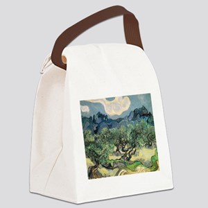Olive Trees - Van Gogh - c1889 Canvas Lunch Bag