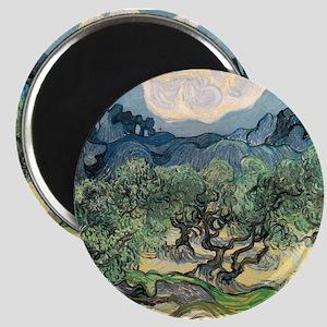 Olive Trees - Van Gogh - c1889 Magnet