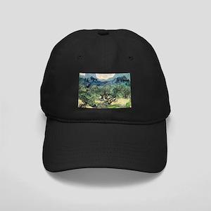 Olive Trees - Van Gogh - c1889 Black Cap with Patc