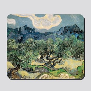 Olive Trees - Van Gogh - c1889 Mousepad