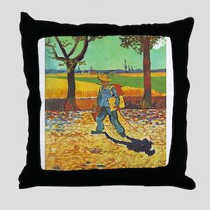 Painter on His Way to Work - Van Gogh - c1888 Thro