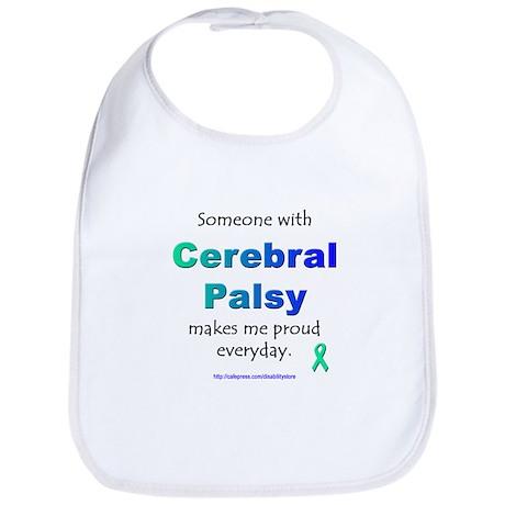 """""""Cerebral Palsy Pride"""" Bib"""