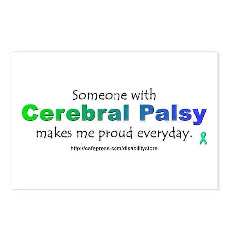 """Cerebral Palsy Pride"" Postcards (Package of 8)"