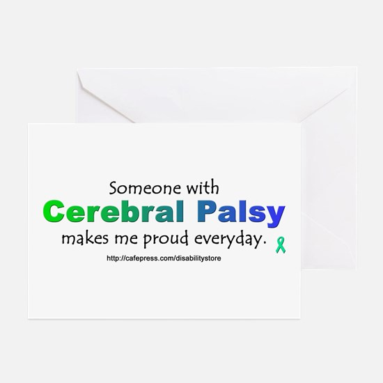 """Cerebral Palsy Pride"" Greeting Cards (Package of"