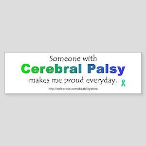 """""""Cerebral Palsy Pride"""" Bumper Sticker"""