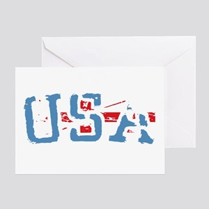 Team USA London Greeting Card