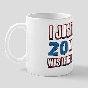 20 yrs Mug