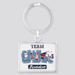 Team USA London Landscape Keychain