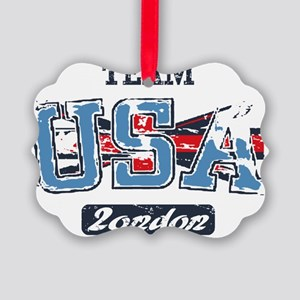 Team USA London Picture Ornament
