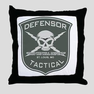 Defensor Tactical Throw Pillow