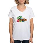 Captiva Island Women's V-Neck T-Shirt