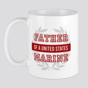 Father of a United States Marine Mug