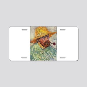 Self Portrait with Straw Hat - Van Gogh - c1888 Al