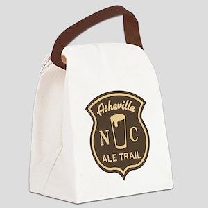 Asheville Ale Trail Logo Canvas Lunch Bag