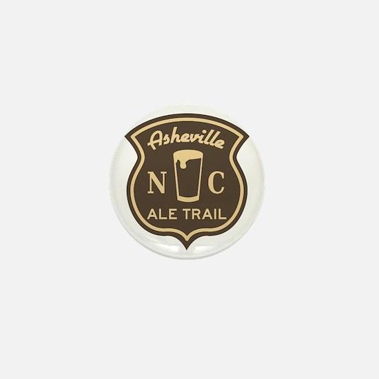 Asheville Ale Trail Logo Mini Button