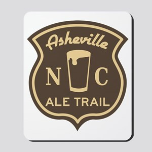 Asheville Ale Trail Logo Mousepad