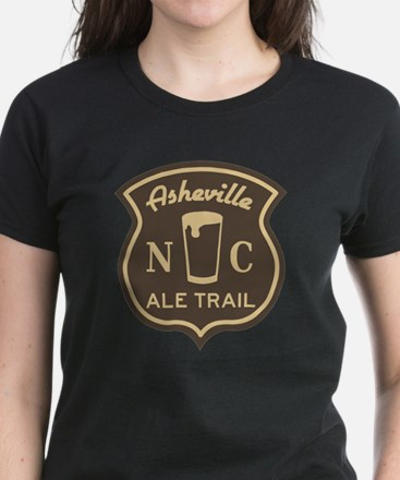 Asheville Ale Trail Logo Women's Dark T-Shirt