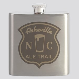 Asheville Ale Trail Logo Flask